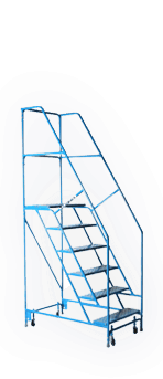 Rolling Steel Ladder