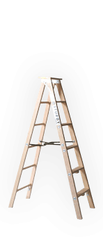 Wood Stepladder
